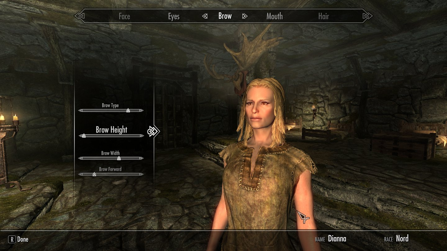 Pickles with celebrity faces for skyrim